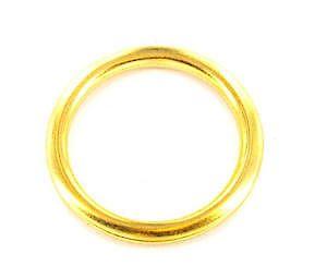 Sec Curtain Rings Brass S6424
