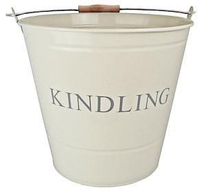 Manor Kindling Bucket Cream 0348