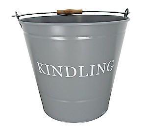 Kindling Bucket Grey 0346