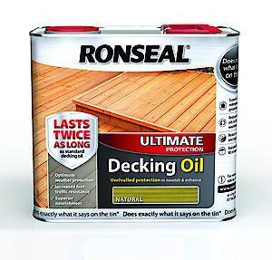 Ronseal Ult Deck Oil Natural 2.5L