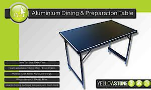 Alum Dining & Prep Table Ft013