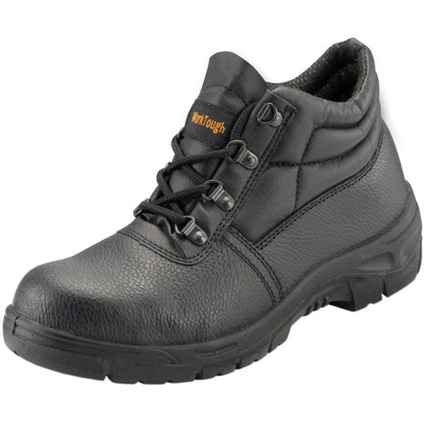 Safety Chukka Boots Black Uk 6