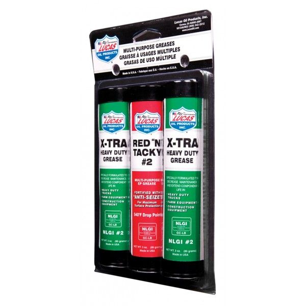 Grease Pack Red N Tacky Xtra Hd 85G
