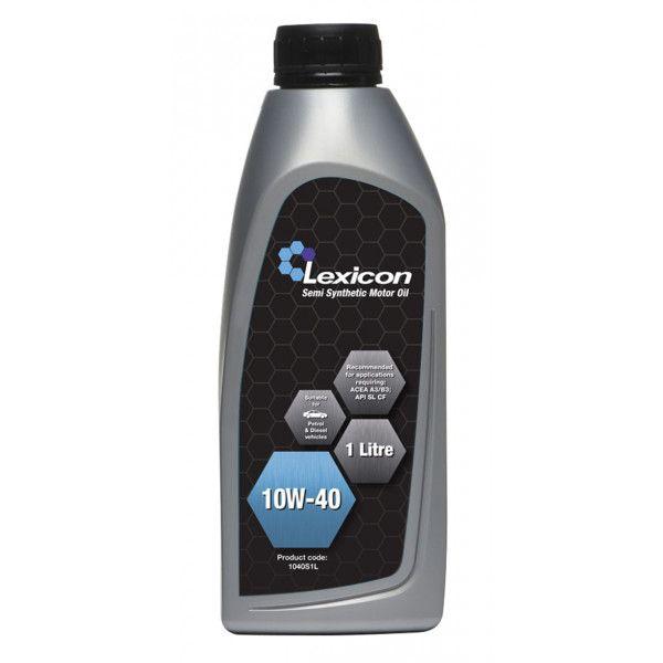 Lexicon 10W40 Semisynthetic 1 Litre