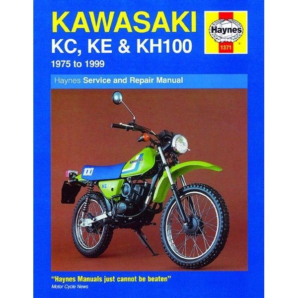Motorcycle Manual Kawasaki Kc Ke Kh100 19751999