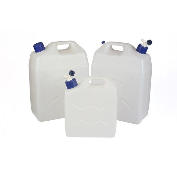 Jerry Can Screw Cap Translucent 9.5 Litre