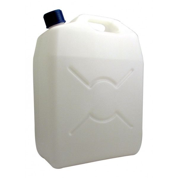 Jerry Can Screw Cap Translucent 25 Litre