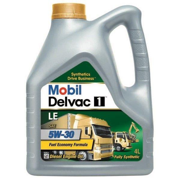 Mobil Delvac 1 Le 5W30 4Ltr