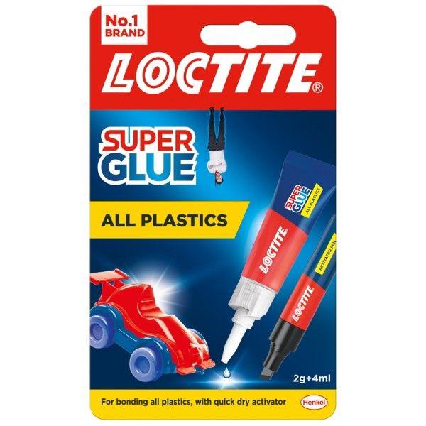 Loctite Super Glue All Plastics