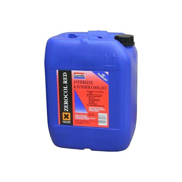 Zerocol Antifreeze Summer Coolant Concentrated 20 Litre