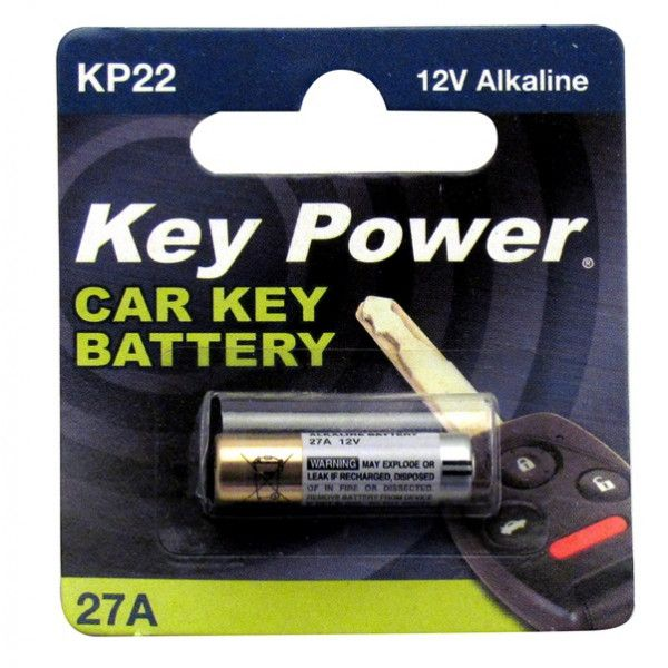 Coin Cell Battery 27A Alkaline 12V