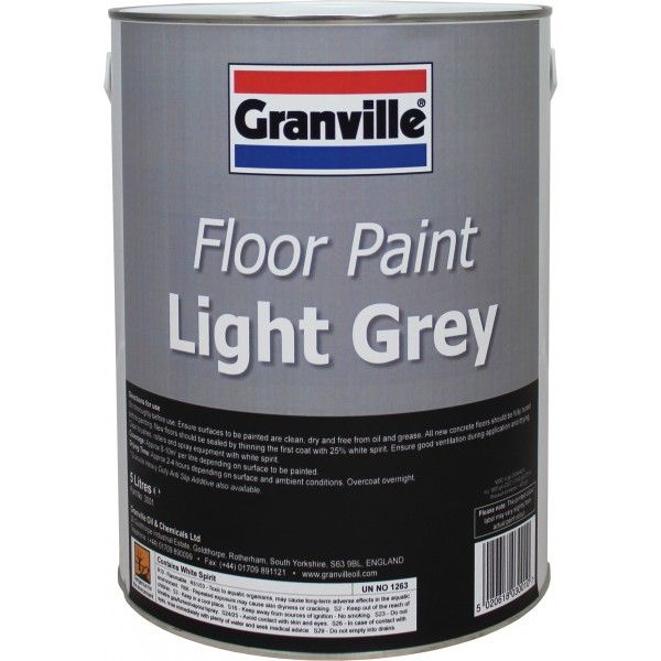 Light Grey Floor Paint 5 Litre
