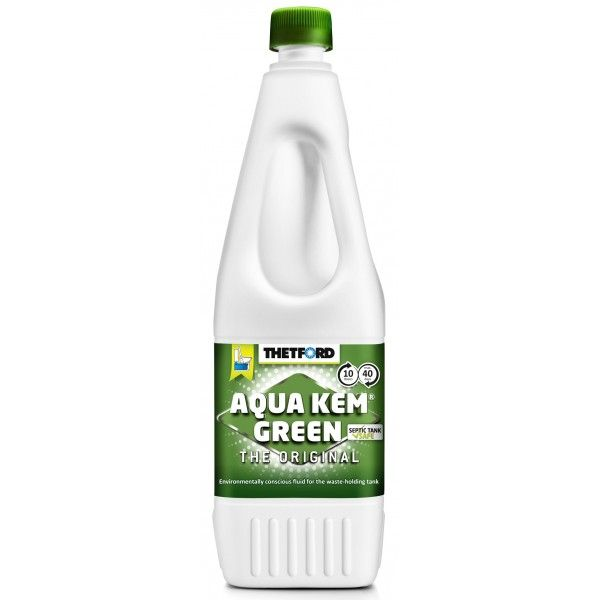 Aqua Kem Green Toilet Fluid 1.5 Litre
