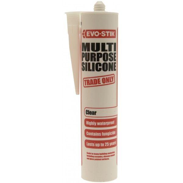 Multi Purpose Silicone Clear 280Ml