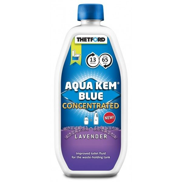 Aqua Kem Blue Lavender Toilet Fluid Concentrate 780Ml