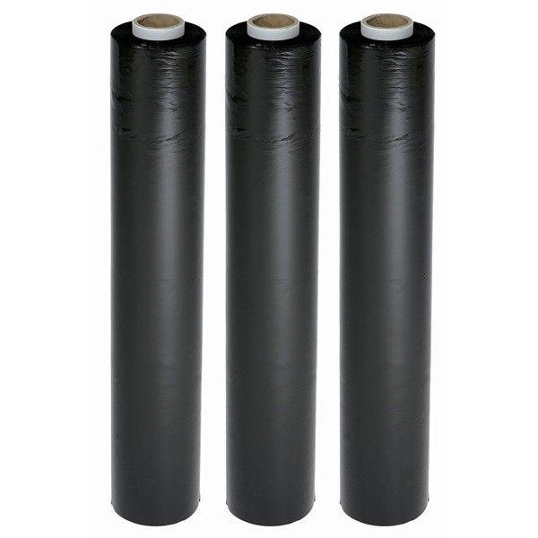 Hand Stretch Film Pallet Wrap Black 6 X 250M