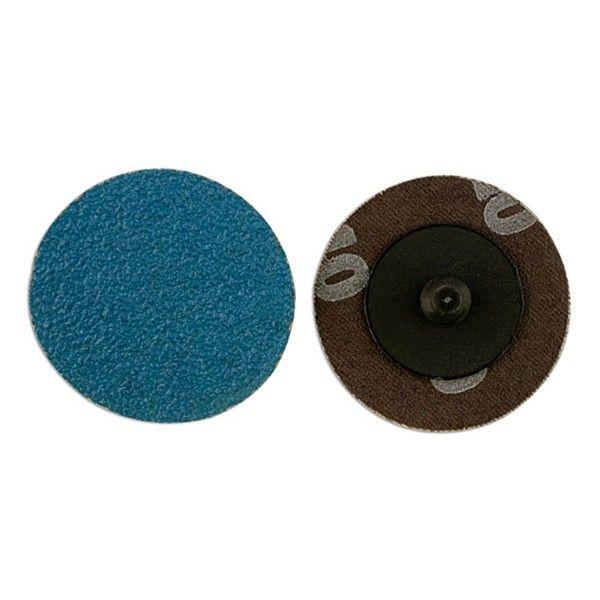 Quick Lock Sanding Discs P80 50Mm Pack Of 25
