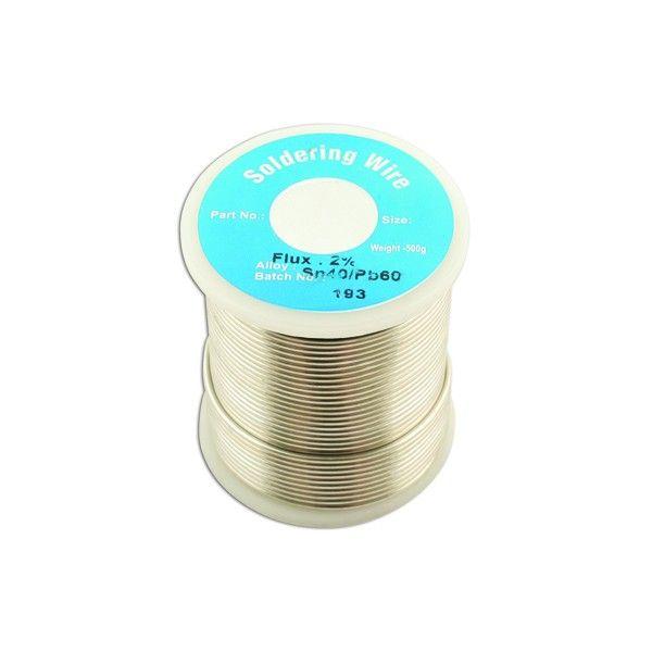 Solder Wire 18 Swg 1.2Mm 0.5Kg Reel