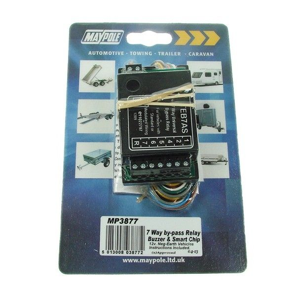 7 Way Bypass Relay Display Pack