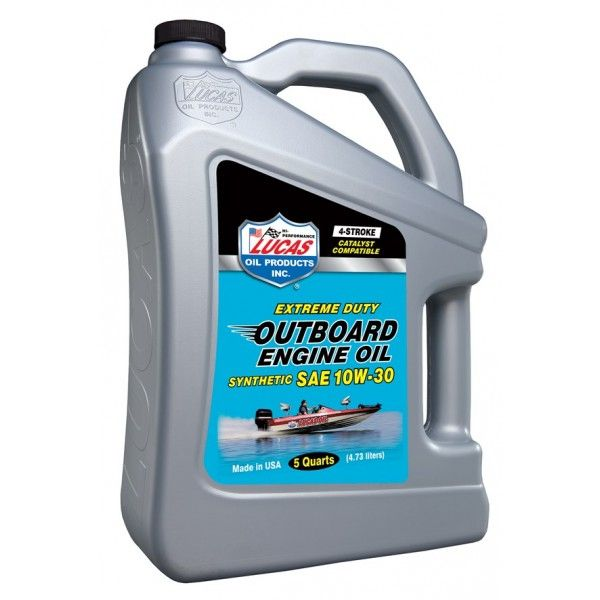 10W30 Sae Fully Synthetic Outboard Engine Oil Fcw 4.54 Litre