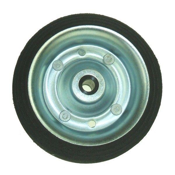 Jockey Wheel Spare Wheel Solid Tyre 160Mm For Mp433