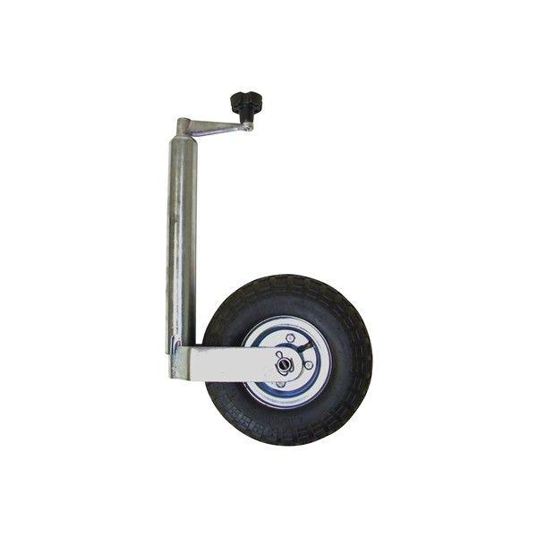 Jockey Wheel Pneumatic No Clamp 48Mm