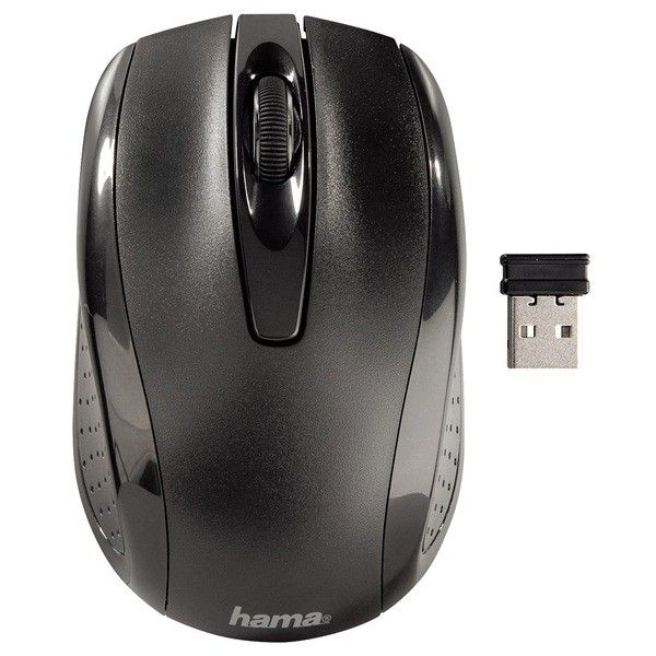3 Buttonscrolling Optical Mouse Wireless