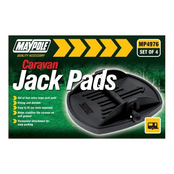 Caravan Jack Pads Pack Of 4