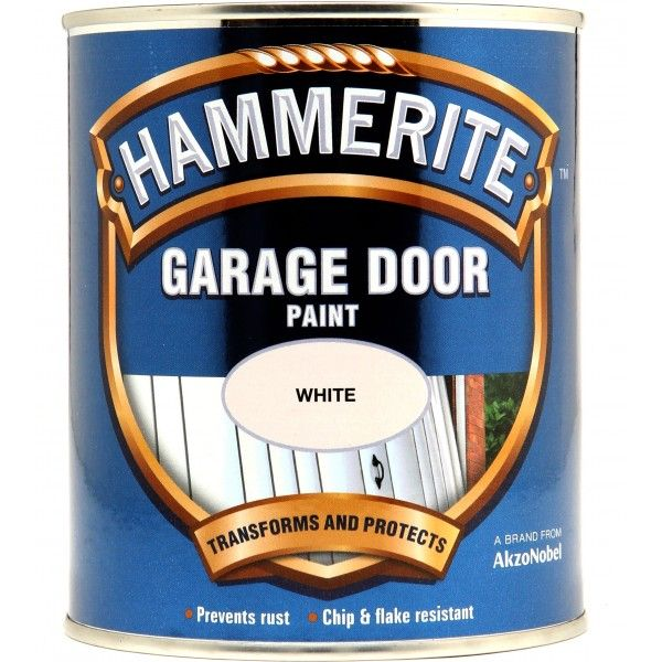 Garage Door Paint White 750Ml
