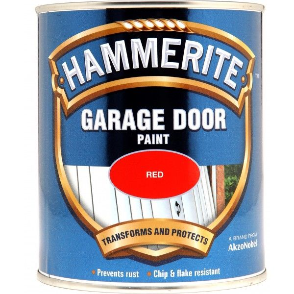 Garage Door Paint Red 750Ml