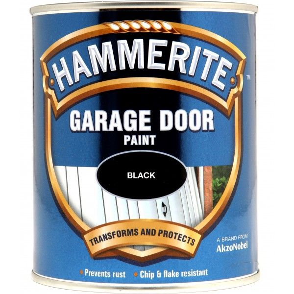 Garage Door Paint Black 750Ml