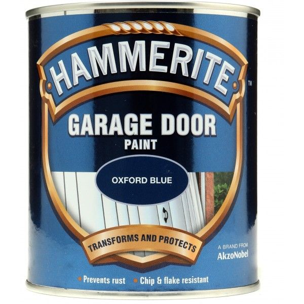 Garage Door Paint Oxford Blue 750Ml