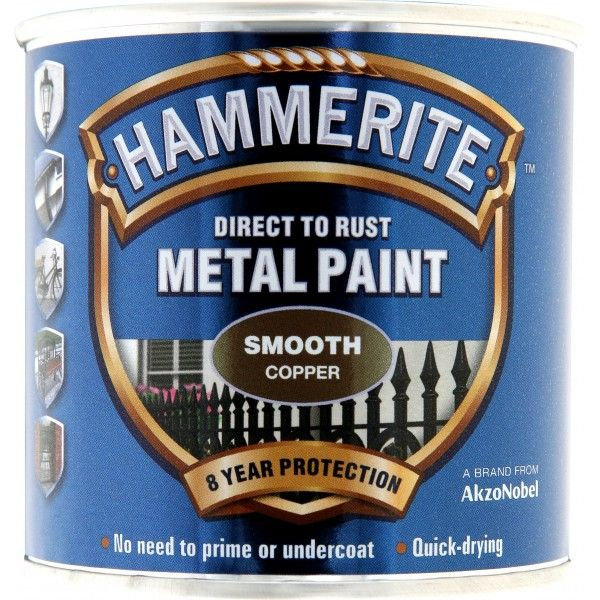 Direct To Rust Metal Paint Smooth Copper 250Ml