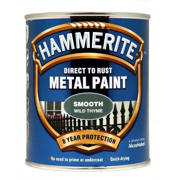 Direct To Rust Metal Paint Smooth Wild Thyme 750Ml