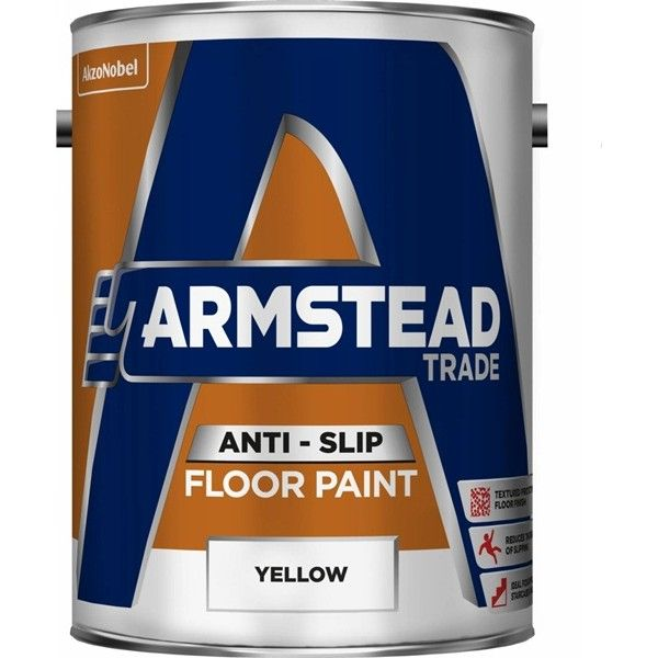Anti Slip Floor Paint Yellow 5 Litre