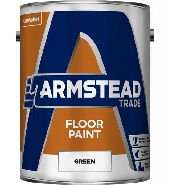 Floor Paint Green 5 Litre
