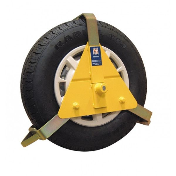 Adjustable Wheel Clamp 10 To 14In.