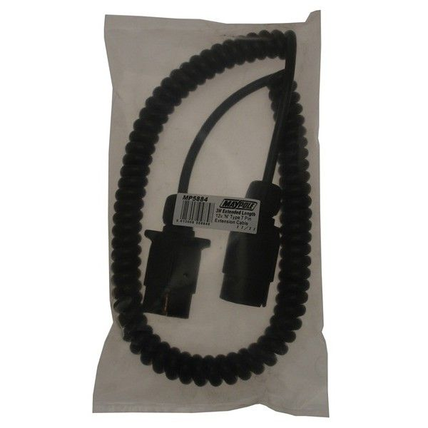 Curly Extension Lead 3M 12N 7Pin Plugs