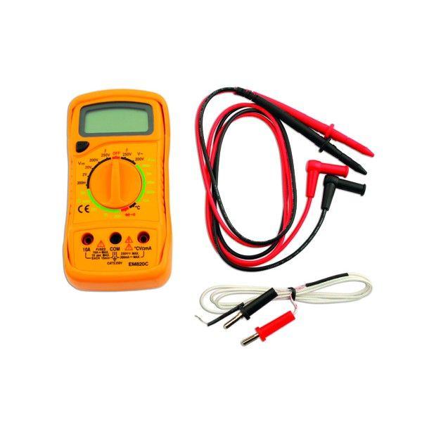 Digital Multi Meter With Temp Probe