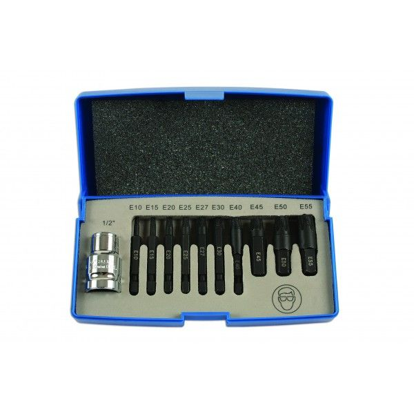 Extractor Set For Torx Fixings 11 Piece