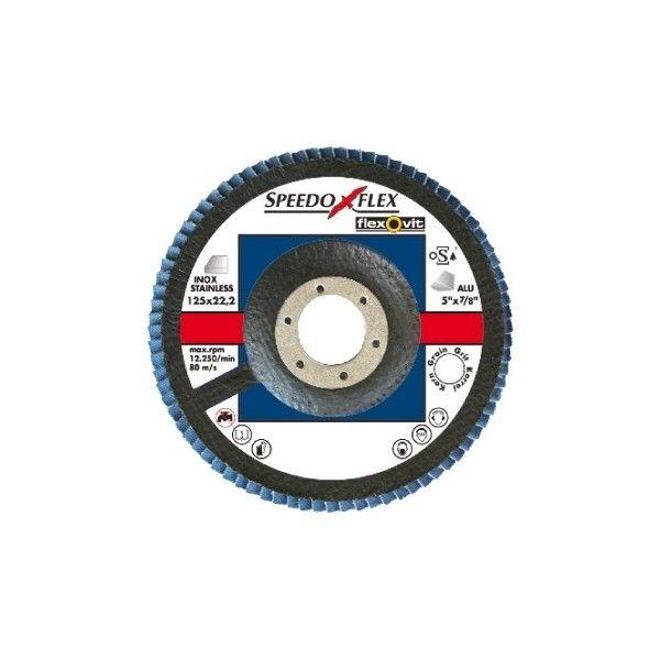 Zirconium Flap Discs 115Mm P60 Pack Of 1