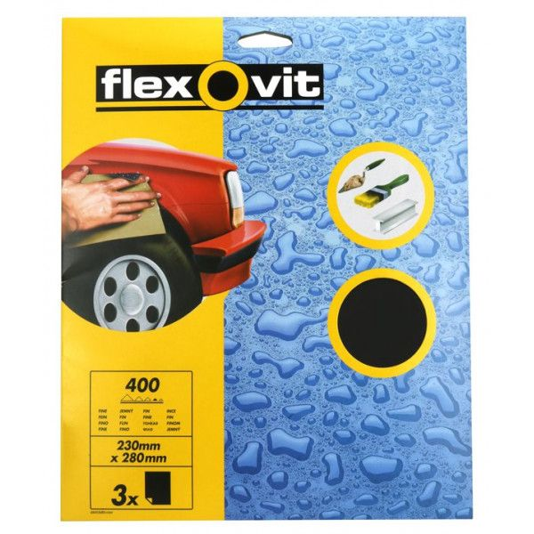 Wet Dry Paper P400 Pack Of 3