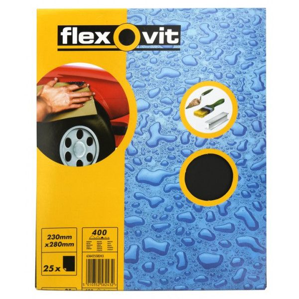 Wet Dry Paper P400 Pack Of 25