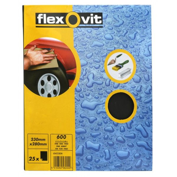 Wet Dry Paper P600 Pack Of 25