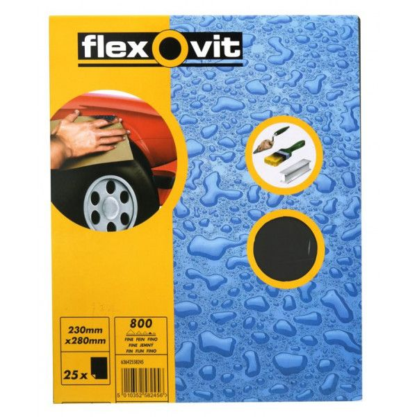 Wet Dry Paper P800 Pack Of 25