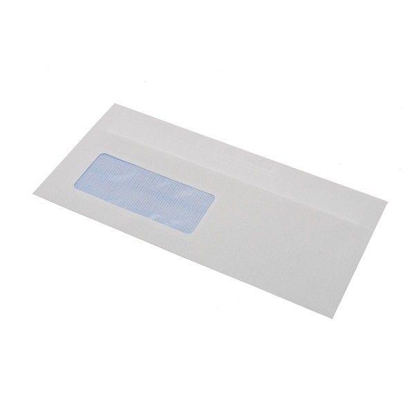 Dl Envelopes White Window Pack Of 1000
