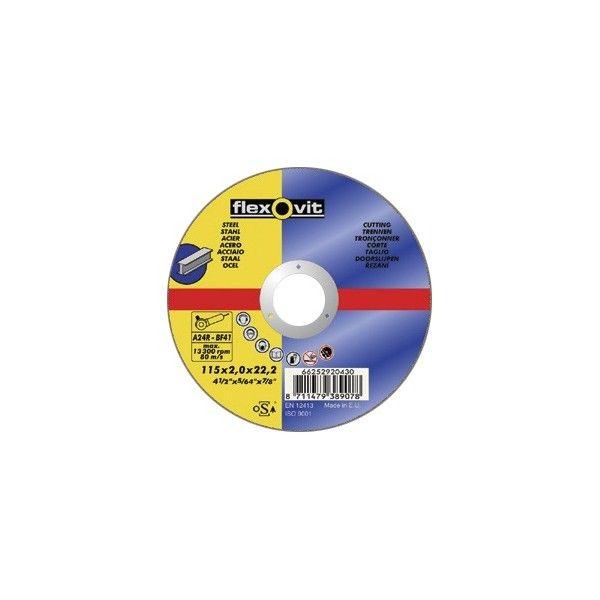 Cutting Disc Flat 115Mm X 2.0Mm