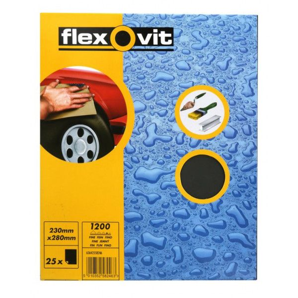 Wet Dry Paper P1200 Pack Of 25
