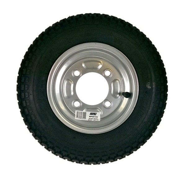 Trailer Wheel Tyre 350Mm X 8In. For Mp6810 Mp711 Erd 102.2