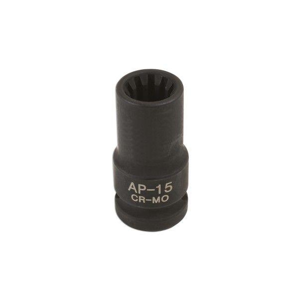 Caliperbrake Pad Socket 10 Point 15Mm